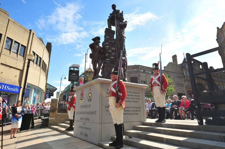 Pomp & Pageantry at Halifax Sculpture Unveiling
