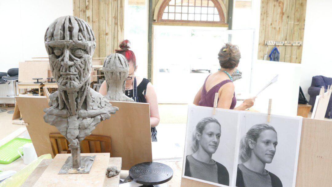 13. Portrait Sculpture Workshop - The Sculpture School
