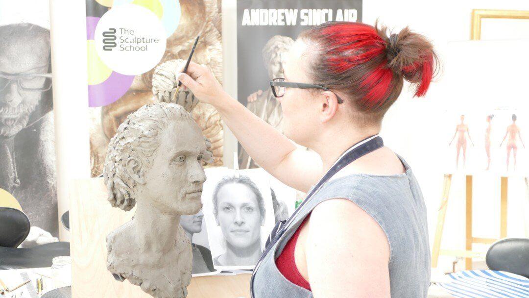 16. Portrait Sculpture Workshop - The Sculpture School