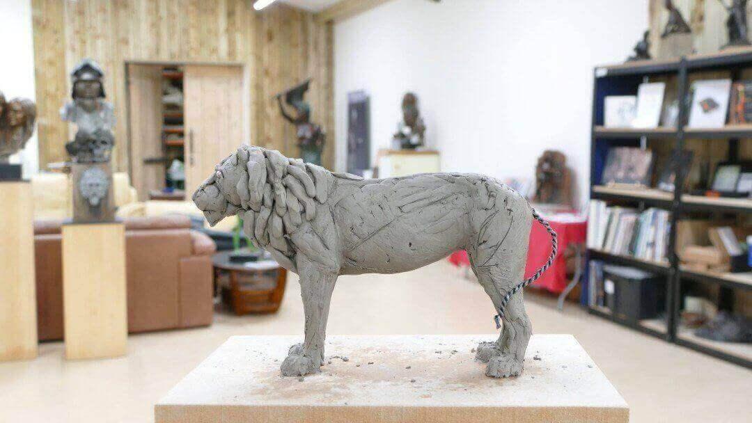 Animal Sculpture Workshop 2. The Sculpture School