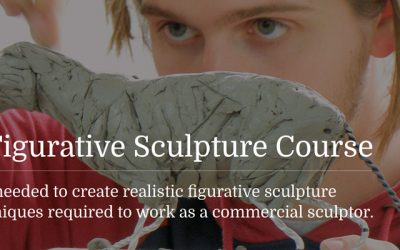 New ONE YEAR Figurative Sculpture Course launched!
