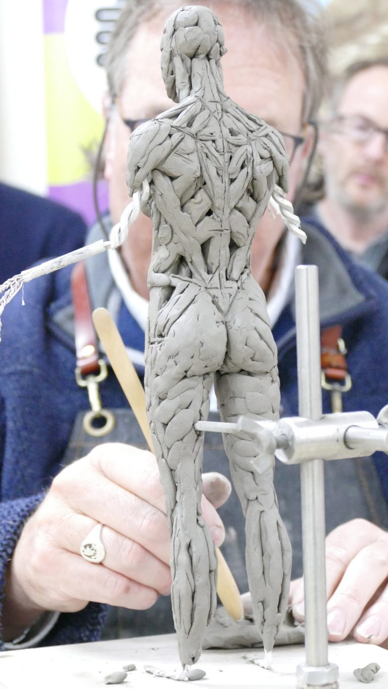 Our Devon Sculpture Workshops are back – starting on 13th April 2021!