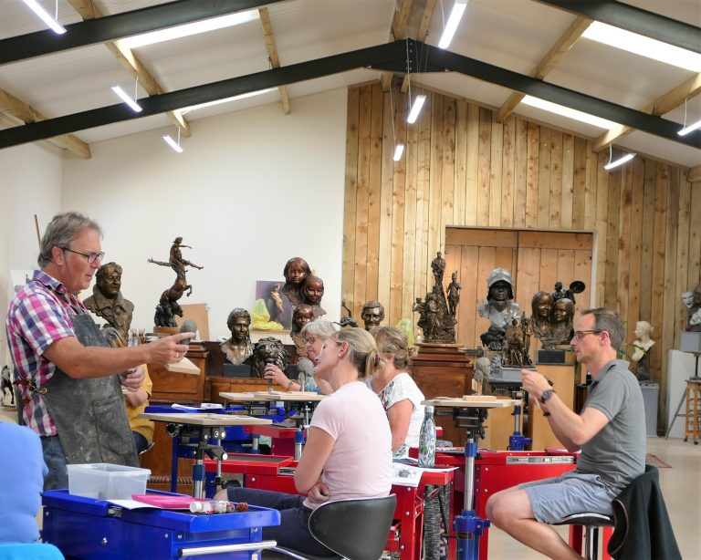Brilliant review for The Sculpture School from Muddy Stilettos!